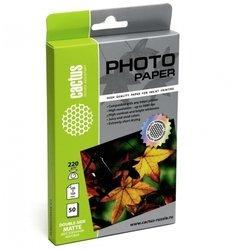 Фотобумага матовая двухсторонняя 10х15 (50 листов) (Cactus CS-MA622050DS)