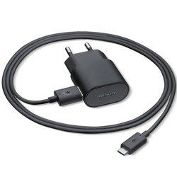 Универсальное сетевое зарядное устройство (Nokia AC-50E) (черный)