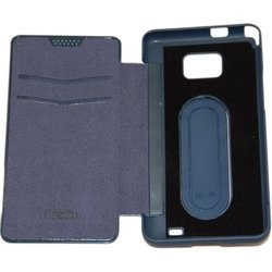 чехол-книжка для samsung galaxy s2 i9100 (palmexx book cover) (синий)