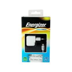 Сетевое зарядное устройство Lightning - USB для Apple iPhone 5, 5C, 5S, 6, 6 plus, iPad 4, Air, Air 2, mini 1, mini 2, mini 3 (Energizer AC1UEUHIP5)