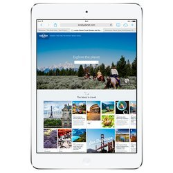 Apple iPad mini 2 with Retina display 32Gb Wi-Fi Silver (белый) :