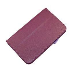 Чехол-книжка для Samsung Galaxy Tab 3 7.0 T2100 (Palmexx SmartSlim) (сиреневый)
