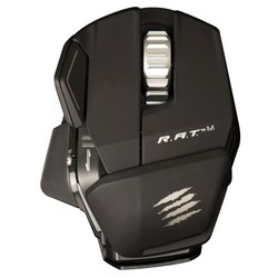 mad catz r.a.t.m wireless mobile gaming mouse matte black usb
