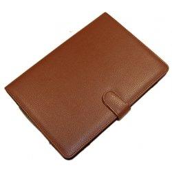 """Универсальный чехол-книжка для планшетов 10"""" (Palmexx) (коричневый)"""