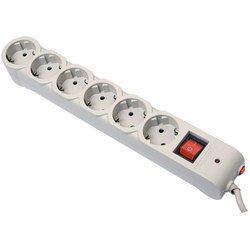 Сетевой фильтр Defender DFS 605 6 розеток 5 м (серый)