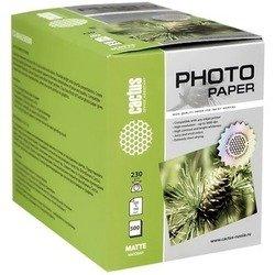 Фотобумага матовая 10х15 (500 листов) (Cactus CS-MA6230500)