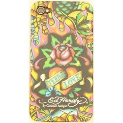 ����������� �����-�������� ��� apple iphone 4, 4s (palmexx ed hardy)