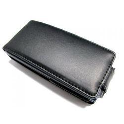 Кожаный чехол-флип для Sony Ericsson U10 Aino (Palmexx) (черный)