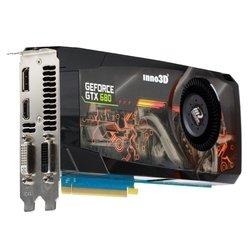 InnoVISION GeForce GTX 680 1006Mhz PCI-E 3.0 4096Mb 6008Mhz 256 bit 2xDVI HDMI HDCP RTL (N68V-2DDN-M5DS)