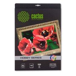 Хлопковый холст А3 (10л) (Cactus CS-СA326010)