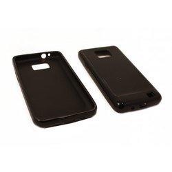 Силиконовый чехол-накладка для Samsung Galaxy S2 i9100 (Palmexx) (черный)