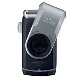 Braun MobileShave M-90 (черный-серебристый)