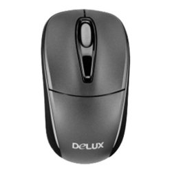 delux dlm-123gb grey usb (серый)