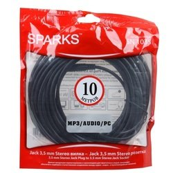 ������ Jack 3.5 mm (m) - Jack 3.5 mm (f) 10 � (Sparks SN1035) (������)