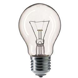 Лампа накаливания Philips Lighting Stan А55 40W Cl E27 230V (колба грушевидная прозрачная)