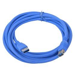 Кабель-удлинитель USB 3.0 A (m) - USB A (f) 1.8 м (Gembird CCP-USB3-AMAF-6) (синий)