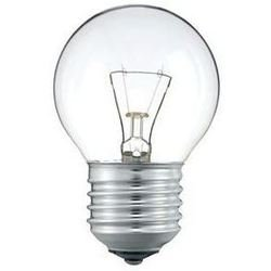 Лампа накаливания шар Philips Lighting P45 60W E27 CL 230V (колба шаровидная прозрачная)