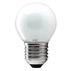 Лампа накаливания шар Philips Lighting P45 40W E27 Fr 230V (колба шаровидная матовая)