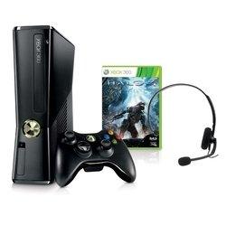 Microsoft Xbox 360 250Gb + игра HALO 4 (R9G-00173) (черный)
