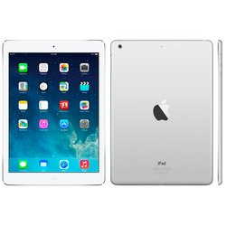 apple ipad air 16gb wi-fi silver (md788ru/a) (белый) :::