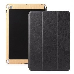 Чехол-книжка для Apple iPad 2, iPad 3 new, iPad 4 (Gissar Cross 32681) (черный)