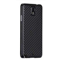 Чехол-накладка для Samsung Galaxy Note 3 N9000, N9005 (CaseMate Carbon Fiber CM030274) (черный)