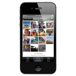 Apple iPhone 4S 8Gb (черный) :::
