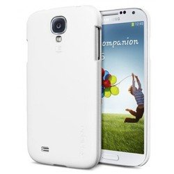 ����������� �����-�������� + �������� ������ ��� samsung galaxy s4 gt-i9500, gt-i9505 (spigen sgp ultra thin air series sgp10222) (�����)