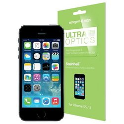 защитная пленка для apple iphone 5, 5s, se (sgp ultra optics sgp08199)
