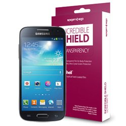 защитная пленка для samsung galaxy s4 mini (sgp incredible shield 4.0 sgp10488)