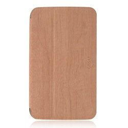 "Чехол-книжка для Samsung Galaxy Tab 3 8.0"" (Gissar Wooden 81461) (коричневый)"