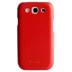 ������� �����-�������� ��� samsung galaxy s3 i9300, i9305 (hoco real leather back cover 12250) (�������)