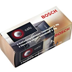 Таблетки для очистки кофе-машин Bosch Benvenuto, Krups, Jura, Siemens от накипи (Bosch TCZ 6002)