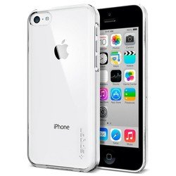 ��������� ����������� �����-�������� ��� apple iphone 5c (spigen sgp case ultra thin air crystal clear sgp10535) (����������-����������)
