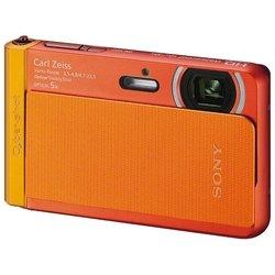 Sony Cyber-shot DSC-TX30 (оранжевый)