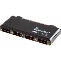Концентратор USB 2.0 (SmartBuy SBHA-6110-K) (черный)