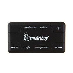 Концентратор USB 2.0 (SmartBuy Combo SBRH-750-K) (черный)