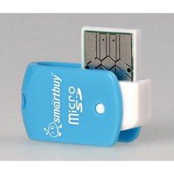 Картридер USB 2.0 (SmartBuy SBR-706-B) (голубой)