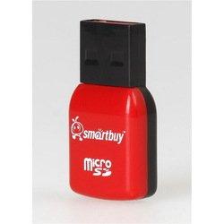 Картридер USB 2.0 (SmartBuy SBR-709-R) (красно-черный)