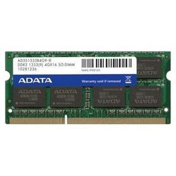 ADATA DDR3 1333 SO-DIMM 4Gb bulk