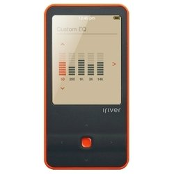 iRiver E300 4Gb (черный/оранжевый)