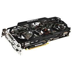 GIGABYTE GeForce GTX 780 Ti 1085Mhz PCI-E 3.0 3072Mb 7000Mhz 384 bit 2xDVI HDMI HDCP (Retail)