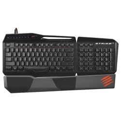 mad catz s.t.r.i.k.e. 3 gaming keyboard black usb (черный)