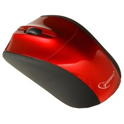 gembird musw-201 red-black usb