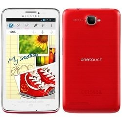 Alcatel ONE TOUCH SCRIBE 8000D (красный) :::