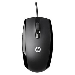 HP X500 Wired Mouse E5E76AA Black USB