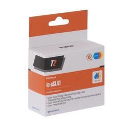 Картридж для Canon Pixma iP1200, 1300, 1600, 1700, 1800, 1900, 2200, 2500, 2600, 6210D, 6220D (T2 IC-CCL41) (цветной)