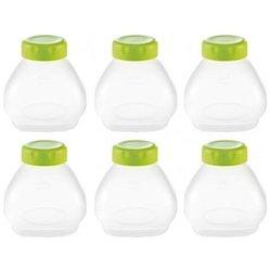 Набор пластиковых стаканчиков с крышками для Tefal Multidelice (XF 102032) (6шт)