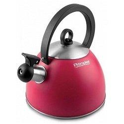 Чайник для газовых плит со свистком Rondell RDS-361 (красный)