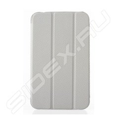 Чехол-обложка для Samsung Galaxy Note 10.1 (Tutti Frutti SR TF281610) (серый)